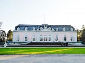 Benrath 5 a Schlossfront