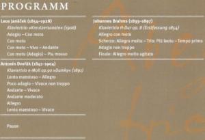 Münster 141104 Programm
