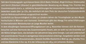 Münster Semester  Abegg