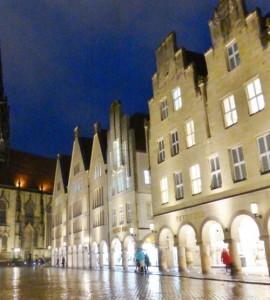 Münster am Abend 141104