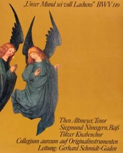 Magnificat 1972 Cover Ausschnitt