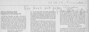 Magnificat Unterschriften 1