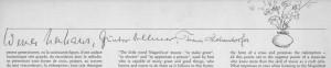 Magnificat Unterschriften 2