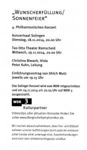 Solingen Saygun Konzert 2