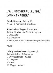 Solingen Saygun Konzert 3