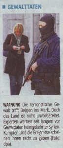 Belgien Gewalttaten