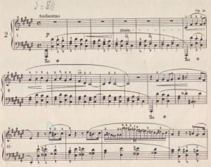 Chopin Impromptus Thema kl