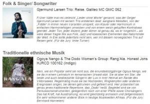 Screenshot Schallplattenliste b