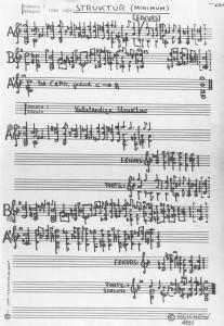 Bach Struktur 1990