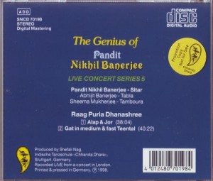 Banerjee CD