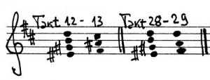 Chopin Prélude Harmoniefolge