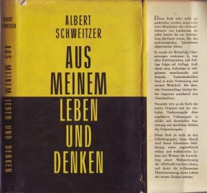Albert Schweitzer Buch Titel