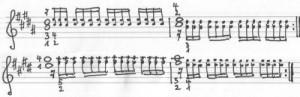 Chopin Etüde gis Triller