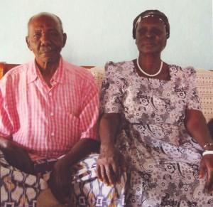 Kenya Ogoya Ehepaar