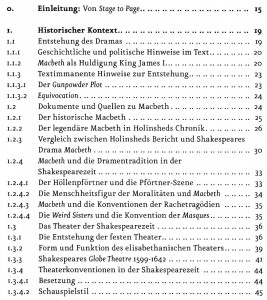 Macbeth Literatur Inhalt 1