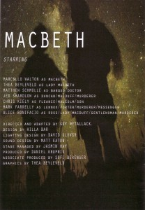 Macbeth Progr Namen