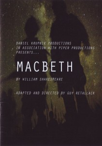 Macbeth Titelblatt