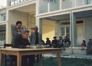 Mazar 1974 Gallia Madadi Aufnahmesituation gr