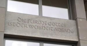 Spruch Schwertstraße nah