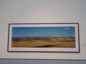 Wim Wenders Bild eines Bildes WÜSTE Düss 15-06-25