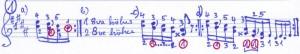 Chopin Übungen Terzenläufe a - d