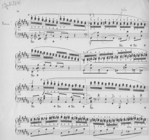 Chopin Terzen-Etüde Seite 2
