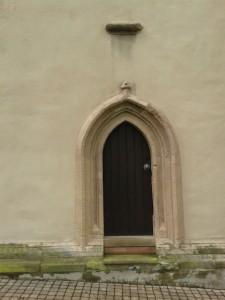 Lemgo St Marien Nebeneingang