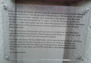 Lemgo Tafel Jesus, Juden Passion