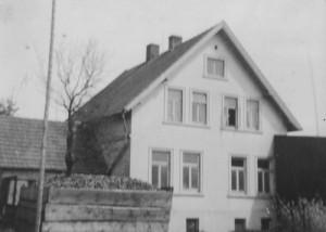 Opas Haus Giebelseite