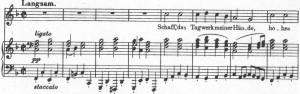 Schubert 1 Melodie F Lied