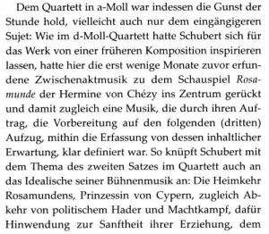 Schubert a-moll Vorwort a'