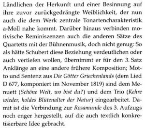 Schubert a-moll Vorwort a''