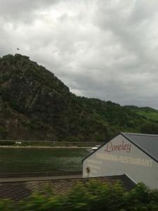 Stuttgart Hinfahrt am Rhein Loreley y