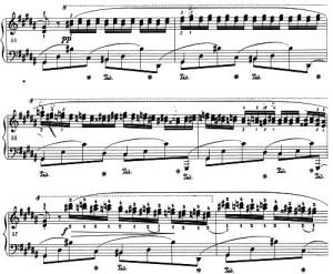 Chopin Chromatik Ende leer