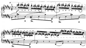 Chopin Chromatik Parallelen