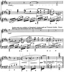 Tristan Schluss Klavierauszug