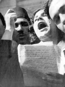 HM die Revolutionärin Latifa az-Zayyât