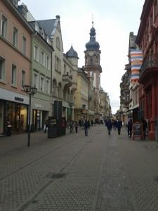Heidelberg Hauptstraße her