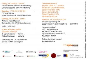 Heidelberg Jerusalem Programm Karte