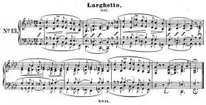Schumann Albumblatt 124,13