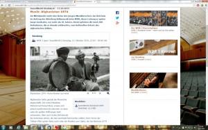 Screenshot Afghanistan Sendung