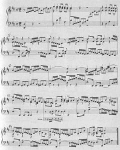 Bach WTC II D-dur