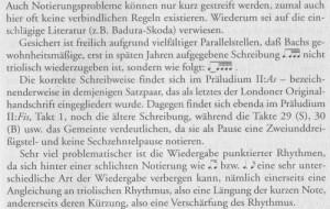 Dürr Notation Bach