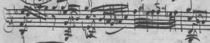 Bach BWV 1001 Adagio Takt 14