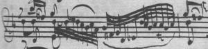 Bach BWV 1001 Adagio Takt 3