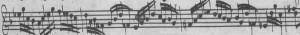 Bach BWV 1001 Fuga Zwi-spiel