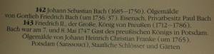 Bach Friedrich II