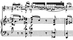 Bach Schumann Adagio Takt 3f
