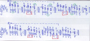 Chopin gis-Lauf Übung