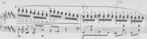 Chopin gis-moll Terzenläufe